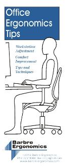 Free Printable Ergonomics Stretching Poster And Workstation Tips